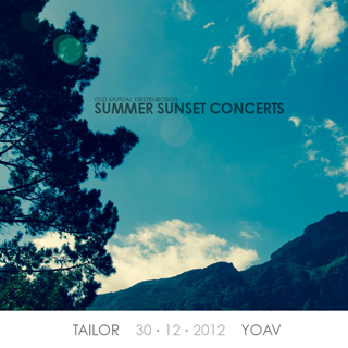 Kirstenbosch Summer Concert with Tailor and Yoav