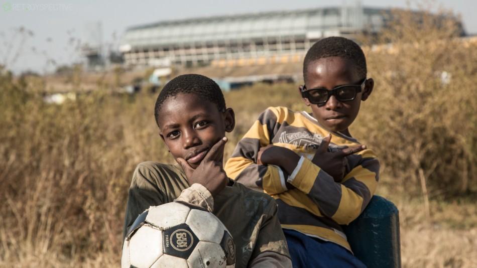 Soccer dudes - Orlando stadium Soweto